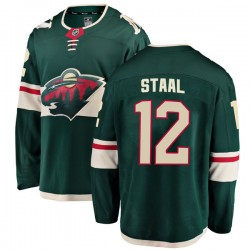 Eric Staal Minnesota Wild Men's Fanatics Branded Green Breakaway Home Jersey