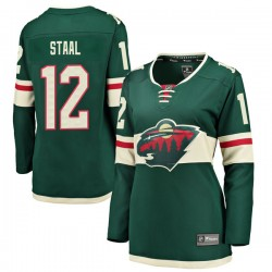 Eric Staal Minnesota Wild Women's Fanatics Branded Green Breakaway Home Jersey