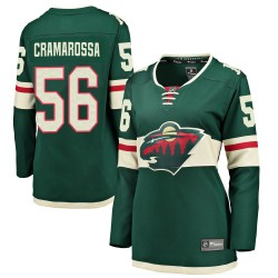 Joseph Cramarossa Minnesota Wild Women's Fanatics Branded Green Breakaway Home Jersey