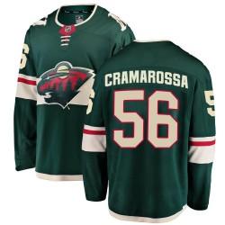 Joseph Cramarossa Minnesota Wild Youth Fanatics Branded Green Breakaway Home Jersey
