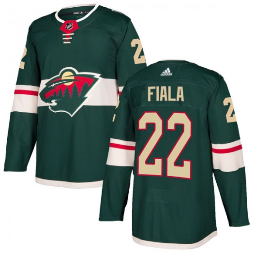 Kevin Fiala Minnesota Wild Men's Adidas Authentic Green Home Jersey