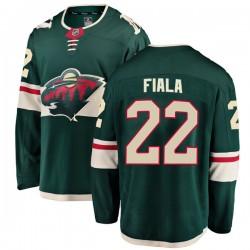 Kevin Fiala Minnesota Wild Youth Fanatics Branded Green Breakaway Home Jersey