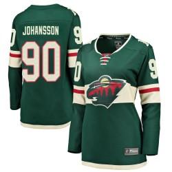 Marcus Johansson Minnesota Wild Women's Fanatics Branded Green Breakaway Home Jersey