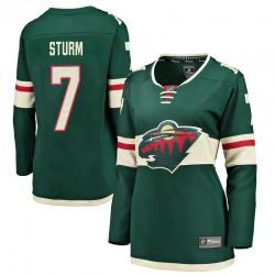 Nico Sturm Minnesota Wild Women's Fanatics Branded Green Breakaway Home Jersey