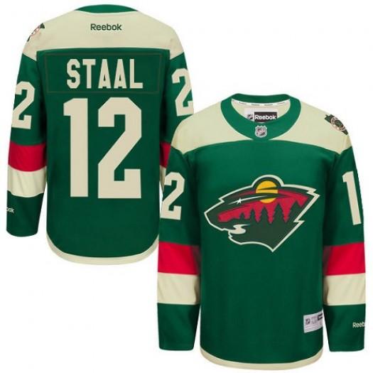 Eric Staal Minnesota Wild Men's Reebok Authentic Green 2016 Stadium Series Jersey