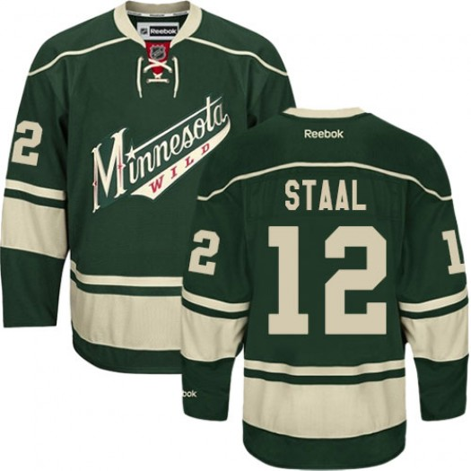 Eric Staal Minnesota Wild Men's Reebok Premier Green Third Jersey