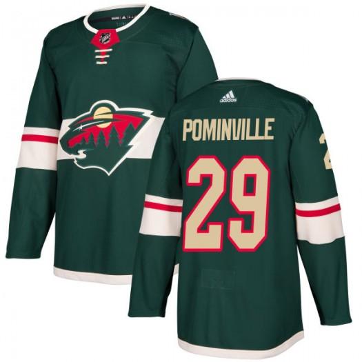 Jason Pominville Minnesota Wild Men's Adidas Authentic Green Jersey